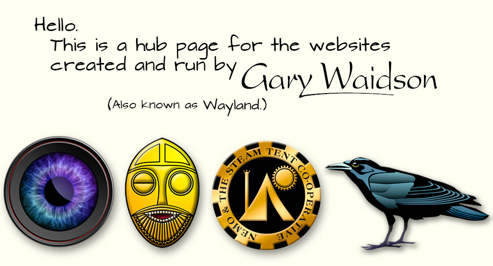 Web Site run by Gary Waidson